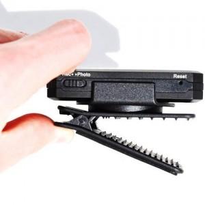 Джобна професионална мини камера за носене на дреха или в ръка с жично дистанционно 2