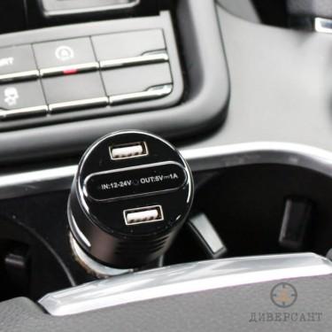 Професионална скрита камера в USB зарядно за кола Lawmate