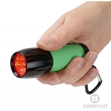 Компактно LED фенерче Carson RedSight