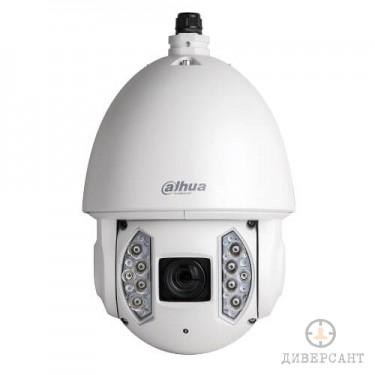 Въртяща PTZ IP видеокамера 2 MP водо-удароустойчива IR с автоматично проследяване на обекти StarLight DAHUA
