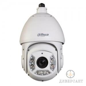 IP въртяща PTZ удароустойчива водоустойчива 4-мегапикселова видеокамера с 30-кратно оптично увеличение и нощно виждане DAHUA