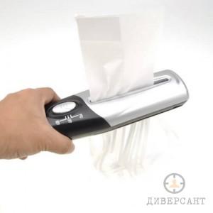 Портативен шредер за унищожаване на хартия