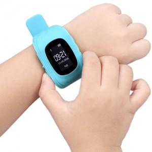 Мини GSM GPS детски смарт часовник за разговори и следене в реално време 2