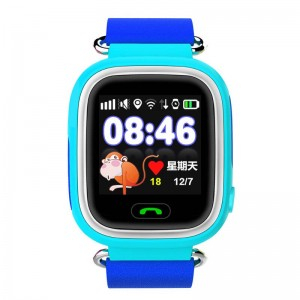 GPS Детски смарт часовник със сензорен екран 2