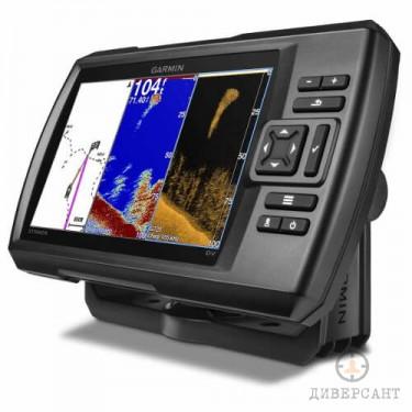 Сонар за риболов GARMIN със сонда 7 инча цветен екран и GPS