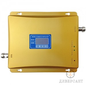 GSM/DCS (900MHz/1800MHz) усилвател с 2000 м2 обхват