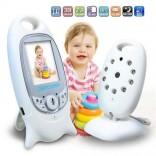 Видео бебефон с  гласова активация и включени приспивни песнички