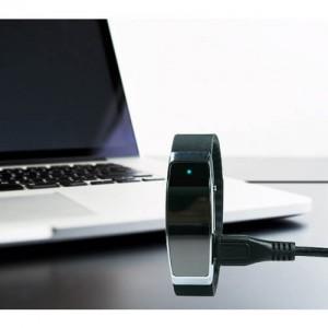 Професионален и стилен аудио рекордер с гласова активация скрит в гривна 2
