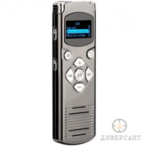 Професионален дигитален аудио рекордер диктофон с два микрофона и редуциране на шума