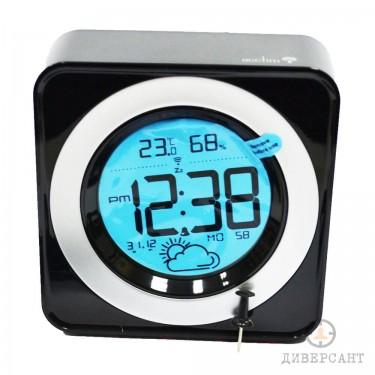 Професионален аудио рекордер с гласова активация скрит в часовник с аларма