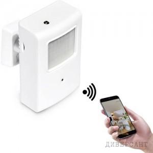Професионална IP скрита камера вградена в инфрачервен датчик за СОТ с детектор на движение