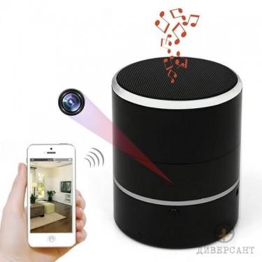 Безжична Bluetooth тонколонка с вградена скрита камера