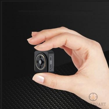 Мини широкоъгълна P2P IP камера с детектор за движение и нощно виждане