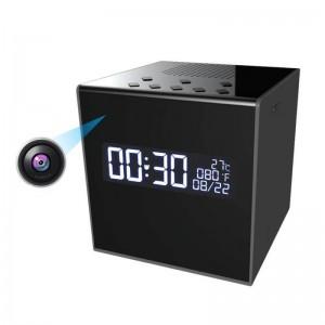WiFi скрита камера в Bluetooth колонка с дигитален часовник 2